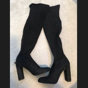Steve Madden Emotions Over The Knee Boot Size 10